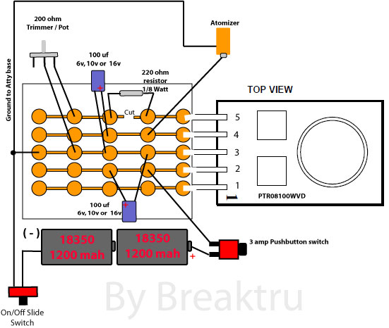 multi user passthrough i thought i might make a few changes to the schematic to do the tactical switch change a mosfet as shown other places in the forum and add the 1s 6s